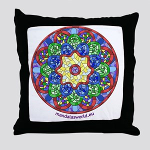 Modernism Gaudi Guell n1 Throw Pillow